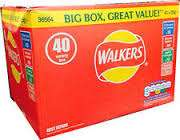 Walkers Variety Crisps 40 Box 40x25g - £4 @ Iceland
