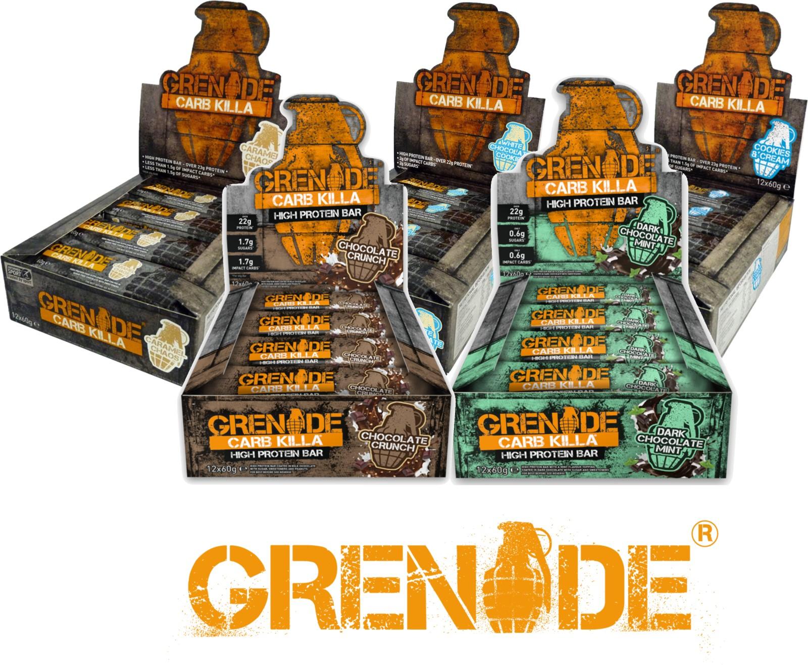 Grenade Carb Killa Protein bars £19.99 @ Argos