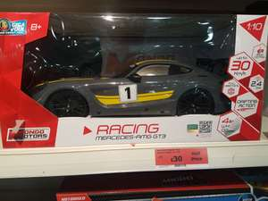 Mercedes AMG remote control 4wd car with drifting action £30 instore @ Sainsbury's Aberdeen
