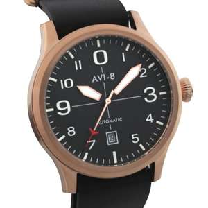 Selection of AVI-8 watches with great reductions - Automatic Flyboy gold £58 from £245 @ TK Maxx