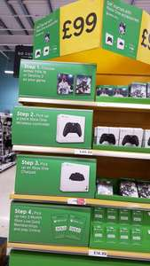 Fifa 18 or Destiny 2 with Xbox One Wireless Controller, Chatpad(Headset Included) and 6 months Xbox live IN-STORE @ Tesco Enniskillen - £99