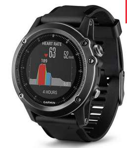Garmin Fenix 3 Sapphire HR watch. £335.07 at Blacks after price matching Amazon with an additional 10% discount.