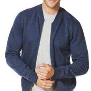 F&F Textured Jersey Bomber Jacket £9 @ Tesco Direct