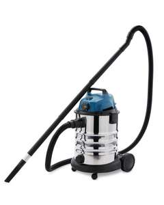 Aldi's Workzone Wet And Dry Workshop Vacuum £49.99