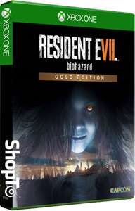 Resident Evil 7: Biohazard -Gold Edition- (Xbox One/PS4) £31.85 (PC) £23.86 @ ShopTo (Pre-order)
