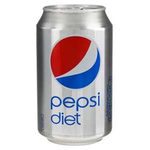 pepsi diet 330ml only 25p each  in poundstretcher