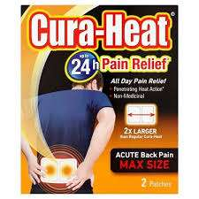 Half price on selected  Cura Heat Patches at Superdrug