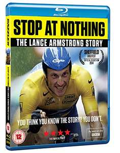 Stop at Nothing: The Lance Armstrong Story (Blu-ray) £5.99 (Prime) / £7.98 (non Prime) at Amazon