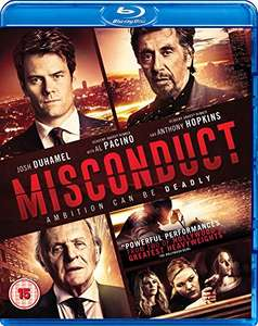 Misconduct (Blu-ray) £6.99 (Prime) / £8.98 (non Prime) at Amazon