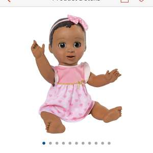 Luvabella African American doll in stock £99.99 in Argos