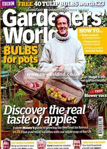 Gardeners' World &/or Gardens Illustrated - 5 editions delivered for £5 (ie GW & GI are separate subscriptions) @ buysubscriptions, Quidco £2.50 on top