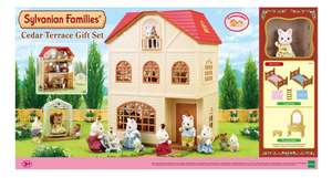 Sylvanian Families Cedar Terrace Gift Set (was £60) Now £30 @ Tesco Direct