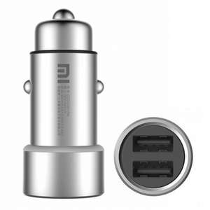 Original Xiaomi Fast Charging In-Car USB Charger  / Metal-Silver (Gearbest - £4.44)