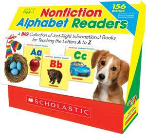 Nonfiction Alphabet Readers: A Big Collection of Just-Right Informational Books for Teaching the Letters A to Z £10.93 @ Amazon