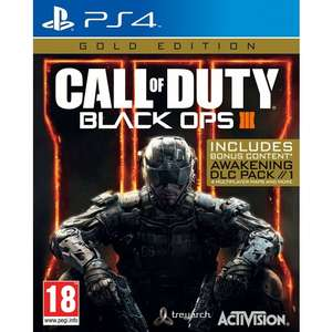Call of Duty: Black Ops III Gold Edition (PS4) £19.95 Delivered @ The Game Collection