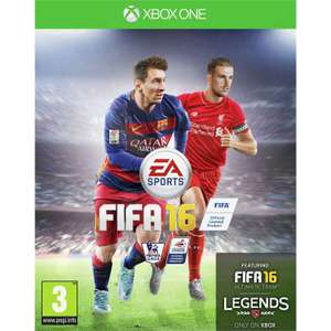 FIFA 16 Xbox One Game £4.45 From the Official Argos Shop on ebay * Free Delivery*