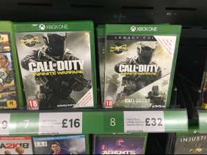 Call of duty infinite warfare legacy edition inc modern warfare £32 in Tesco Doncaster