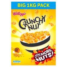 Kelloggs Crunchy Nut Cereal 1Kg X2 = £5 works out £2.50 each @ Tesco