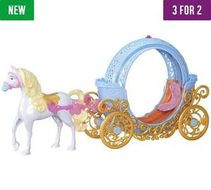 Disney Princess Cinderella's Magical Transforming Carriage & Horse Now only £24.99 at Argos AND on 3 for 2 offer (£40+ most other retailers)