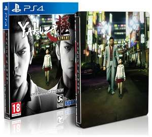 Yakuza Kiwami Steelbook Edition (PS4) £23.95 Delivered @ The Game Collection
