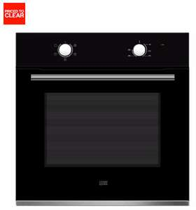 COOKE & LEWIS CLFNBK60 BLACK ELECTRIC SINGLE OVEN for £135 Delivered (RRP £175) @ B&Q