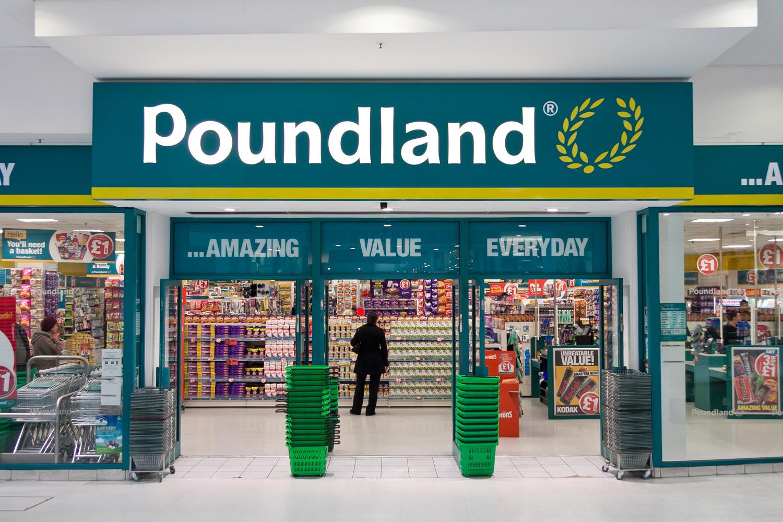 90p Everything PoundLand 10% off Wood Green London