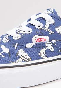 Vans PEANUTS edition dark blue (Various sizes - good stock) £30.24 Free Delivery and Returns (ALSO Toy Story Woody Vans limited Sizes £20.99) @ zalando