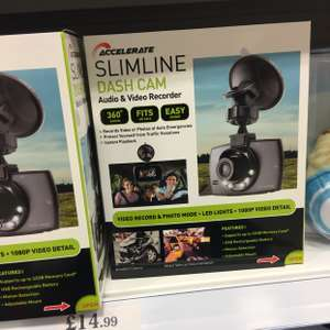 1080p dashcam - £14.99 home bargains - East kilbride