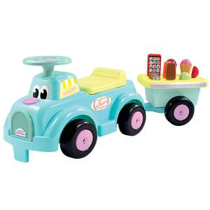 Ecoiffier Ice Cream Truck Ride-On (was £39.99)  Now £19.98 @ Toys R Us