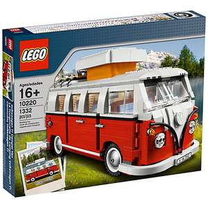 LEGO Creator 10220 VW Camper Van £74.98 Delivered @ John Lewis