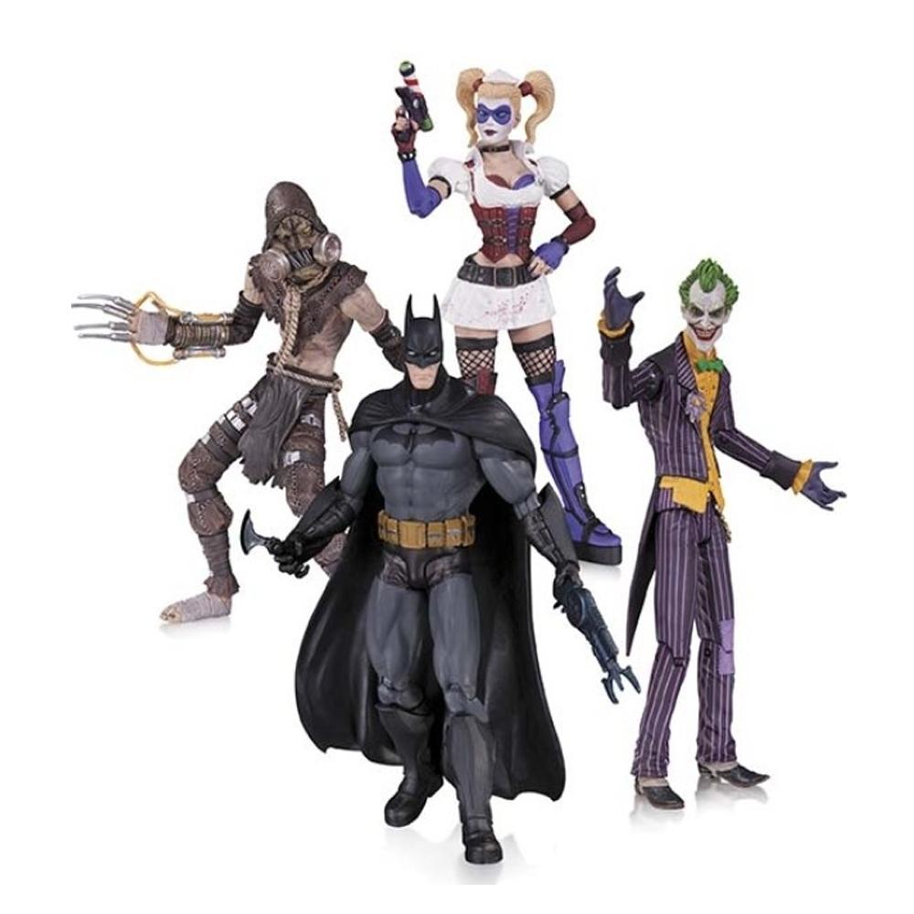 ToysRUs - DC Collectibles Batman Arkham Asylum Action Figure Set - 4 Pack £39.99