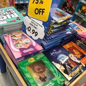Disney Hardback Magical Storybooks reduced to 99p @ The Entertainer