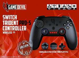 Game Devil Switch PRO-S Controller Wireless (Nintendo Switch) £31.53 @ Amazon