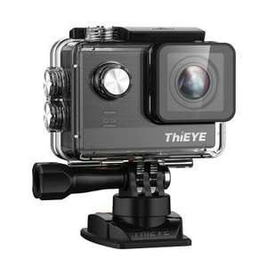 ThiEYE T5e WiFi 4K 30fps Sport Camera 12MPAmbarella Chipset 170 Degree FOV 2 inch TFT LCD Display Max Support 64G SDHC Card £78.61 @ Gearbest