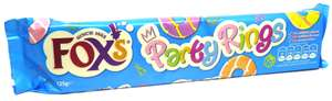Fox's party rings biscuits 125g 39p @ Farmfoods