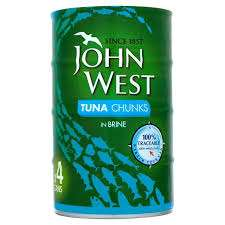 John West Tuna Chunks in Sunflower Oil / Brine 4 x 160g £2.75 @ Farmfoods.