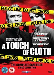 A Touch of Cloth Series 1-3 Box Set [DVD] , £7.99 Amazon prime £9.98 Non Prime