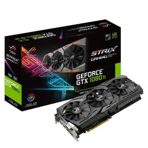 ASUS ROG STRIX Geforce GTX 1080 TI 11GB Graphics card  £659.50 at Amazon.it