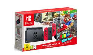 Nintendo Switch Super Mario Odyssey Limited Edition Console + Super Mario Odyssey £267.98 @ Very (New Customers with 20% code)