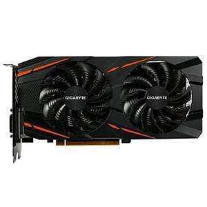 Gigabyte AMD GV-RX580GAMING-8GD 8 GB , £269.99 from Amazon