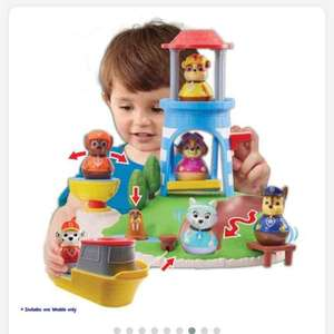 Paw Patrol Weebles Pull and Play Seal Island Playset £12.99 in store and online @ Smyth's