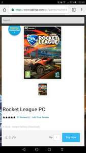 Rocket League - Steam - £6.99 at CDKeys (Possible £6.64 with 5% Facebook discount)