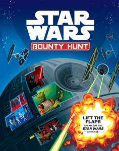 Star Wars Bounty Hunt (Hardback: Lift Flap Book) only £1.75 with Free C&C @ The Works