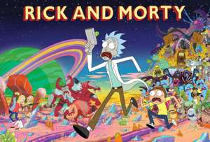 Rick & Morty Graphic Novels sale (digital) now £2.99 each @ Comixology