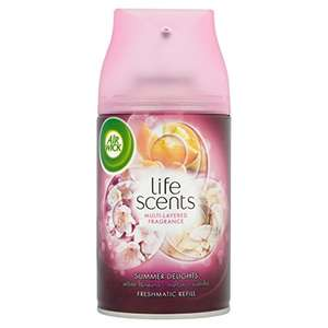 Pack of 4 250ml Air Wick Life Scents only £4.99 free delivery for prime members