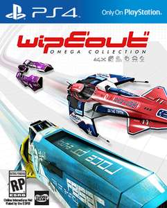 Wipeout omega Collection PS4 from UK PSN store 10% extra discount with PS+: £12.99