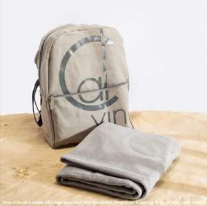 HSamuel Free Calvin Klein rucksack or Towel with CK jewellery purchase on student night Thurs night Canterbury Store