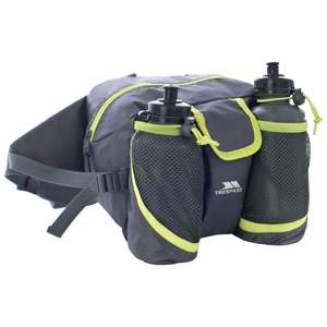 Waikaka 8 Litre Grey Bum Bag Discount from £17.99 to £3.99 plus £2.95 delivery at  Trespass