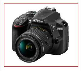 Nikon D3400 with 18-55VR Lens - £429.99 with £50 code at VERY