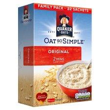 Quaker Oat So Simple Original Porridge Big Box (22 sachets) Half Price. £1.99 @ Tesco Online/Instore